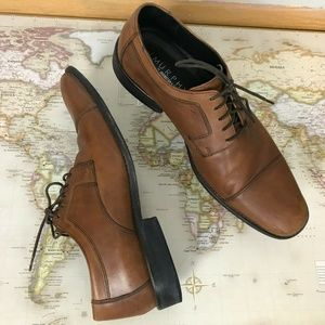 Johnston and Murphy Men's Size 12M Lace-up Oxfords